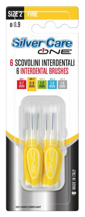 SILVER CARE ONE INTERDENTAL BRUSHES