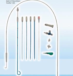 Nephrostomy Drainage Set with Pigtail Catheter