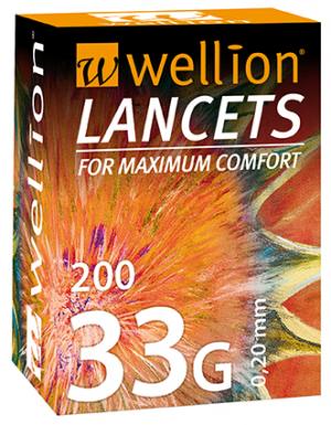 Wellion 33G LANCETS