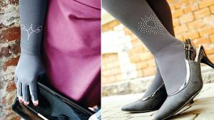 Swarovski® crystals for all medicated compression stockings
