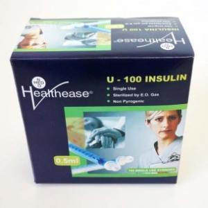 0.5ml Insulin Syringe with 29g Fixed Needle