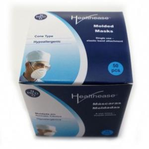Healthease Face Mask Moulded Cone Shaped