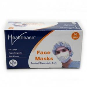 Healthease Surgical Face Mask 3ply Ear Loop Type