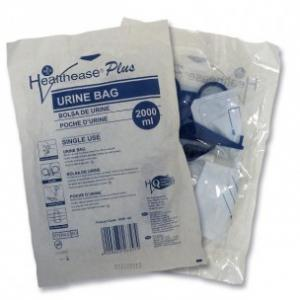 Healthease Urine Collection Bag With Outlet Tap Sampling Port - 2000ml
