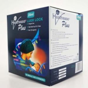 Luer Lock - 3 part Latex Free Syringe