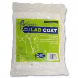 Non Woven Lab Coat White