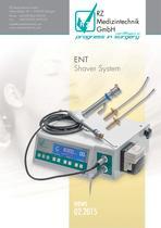 RZ Medizintechnik   ENT Shaver System