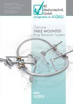 RZ Medizintechnik | Genuine table mounted ring retractor system