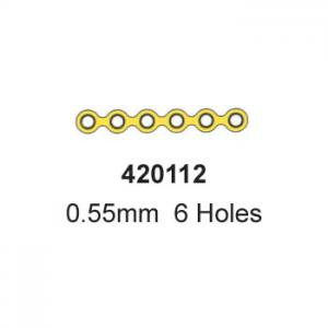 Straight Plate, 420112