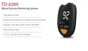 Blood Glucose Monitoring System TD-4289