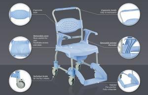 Moem Bath Commode Chair