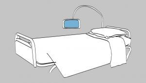 Télécom Santé - Medical smart bed