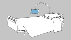 Télécom Santé - Medical smart bed
