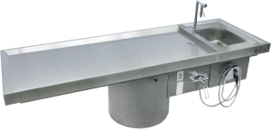 Autopsy Table - Thalheimer Kühlung | German Manufacturer of Medical Refrigerators and equipment