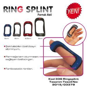 CODE: 336 Ring Splint Finger Splints