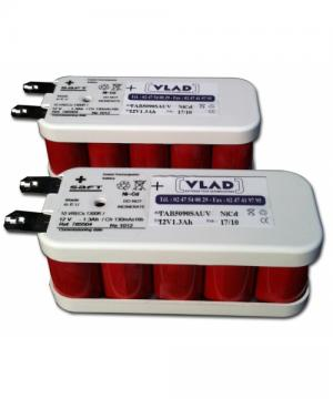 Battery 2x 12V for table 1,3Ah Equinoxe 5090 (back up) MAQUET - Vlad