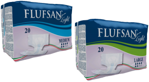 FLUFSAN Light ALL-IN-ONE LIGHT ADULT DIAPERS