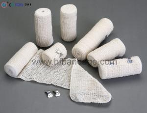 Natural color elastic crepe bandage-Crepe Bandage-Anji HengFeng Sanitary Material Co.,Ltd