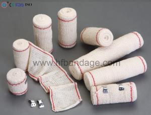 Red(blue) thread elastic crepe bandage-Crepe Bandage-Anji HengFeng Sanitary Material Co.,Ltd