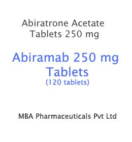 http://www.mbapharmaceuticals.com/product/abiratrone-abiramab-250-mg/