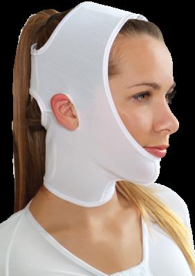 Face - compressive garments