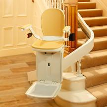 ACORN 180 CURVED STAIR LIFT for sale | Columbia Medical Supply (443) 832-4244