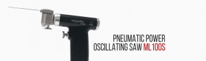 Pneumatic power oscillating saw