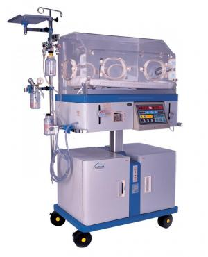 nice 3010 H – Infant Incubator with electrically height adjustable