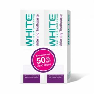 iWhite Duopack toothpaste