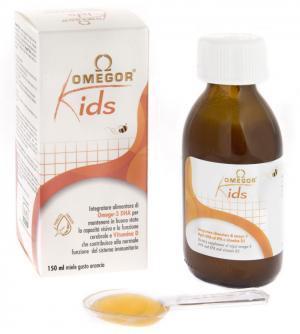 OMEGOR® Kids - omega-3 DHA froma algae and D3 in honey emulsion for children