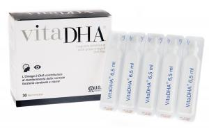 VITADHA® liquid - high content omega-3 DHA supplement in single vial