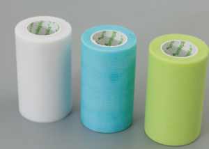 Medical tape are made of breathable non-woven fabric(paper), polyethylene material, silk, coated with medical hypoallergenic acrylic adhesive or silicone adhesive for fixation of dressing pads or medical devices,skin friendly adhesive and bi-directional easy tearing.
