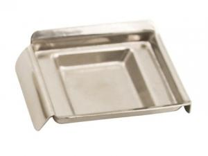 STAINLESS STEEL BASE MOULD 24x24x5mm - Embedding Accessories - Consumables