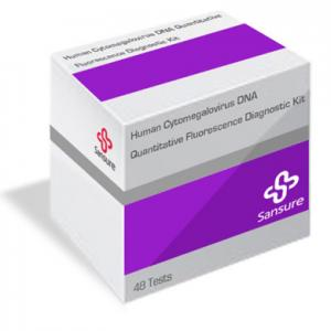 Human Cytomegalovirus DNA Quantitative Fluorescence Diagnostic Kit (PCR-Fluorescence Probing) SANSURE   Advanced Molecule Diagnosis Solutions