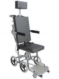 Plane cabin wheelchair grey wheels 200x30 | orthosxxi