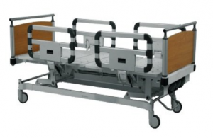Manually Operated 3 Function High End Hospital / ICU Cot