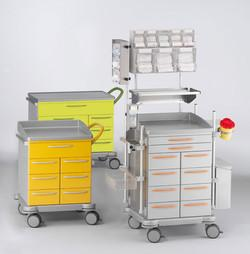 Schmitz u. Söhne:varimed® functional trolleys