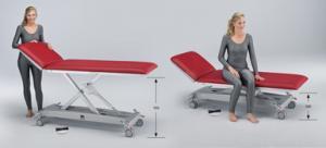 Schmitz u. Söhne:varimed® - Height adjustable examination and treatment couches