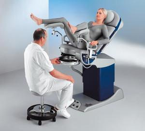 Schmitz u. Söhne: medi-matic® 115 series - Examination and treatment chair for urology