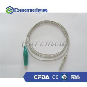 EEG cable crocodile clip,green,1.1m