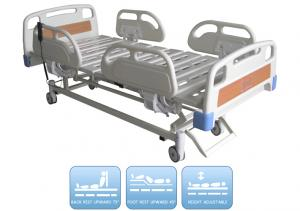 Zhangjiagang Medycon Machinery Co.,Ltd. - Products - Electric hospital bed series - Electric bed 3 functions - BDE202Electric hospital bed