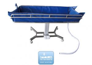 Zhangjiagang Medycon Machinery Co.,Ltd. - Products - Transfer stretcher series - BDE601 Shower Bed