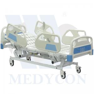 Zhangjiagang Medycon Machinery Co.,Ltd. - Products - Electric hospital bed series - Electric bed 5 functions - ElectricBedWithFiveFunctions