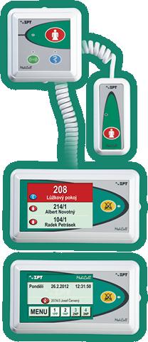 ZPT Vigantice .:. MDC SV05 • signalling system nurse - patient