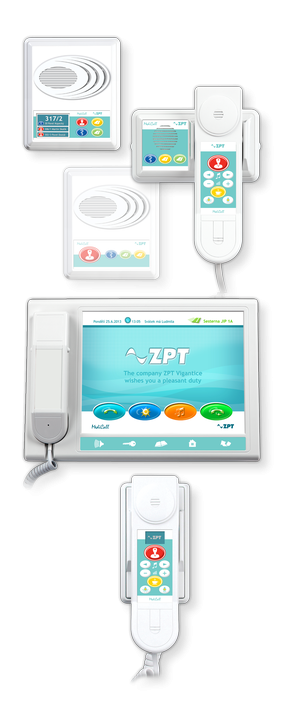ZPT Vigantice .:. MDC V04 IP • communication system nurse - patient