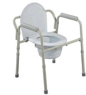 Micro-Touch Commode Chair (Without Wheels)