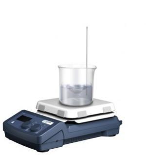 "Digital LCD Hotplate Stirrer 7x7"" - Oasis Scientific Inc."