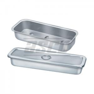 Catheter Tray with cover, SS