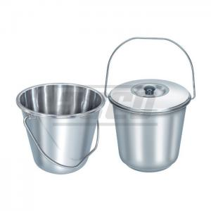 Bucket with Lid, SS