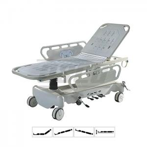 Emergency Patient Stretcher Trolley, Hydraulic